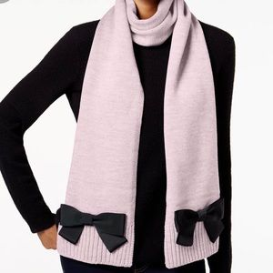 Kate Spade Pink Scarf with Bows